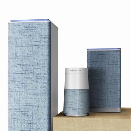 Trois nouvelles enceintes Energy Sistem avec Alexa pour piloter la musique partout chez soi