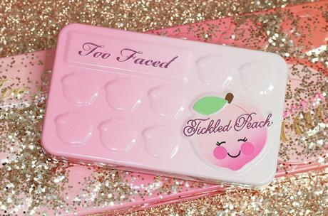 La palette « Tickled Peach » de Too Faced (revue & swatches)!