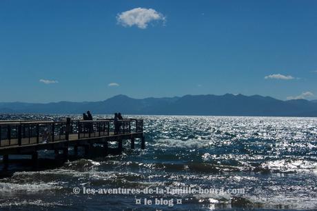 Une journée au Lac Tahoe : Kite surf, plage et glace !