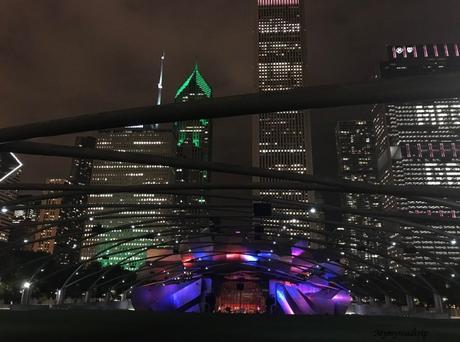 Chicago et ses buildings : un exemple d'architecture américaine.
