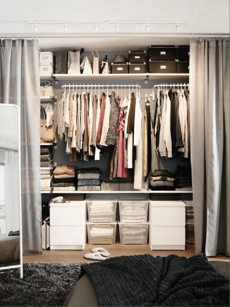 A quoi ressemble le dressing parfait ? Réponse en images sur @decocrush - www.decocrush.fr