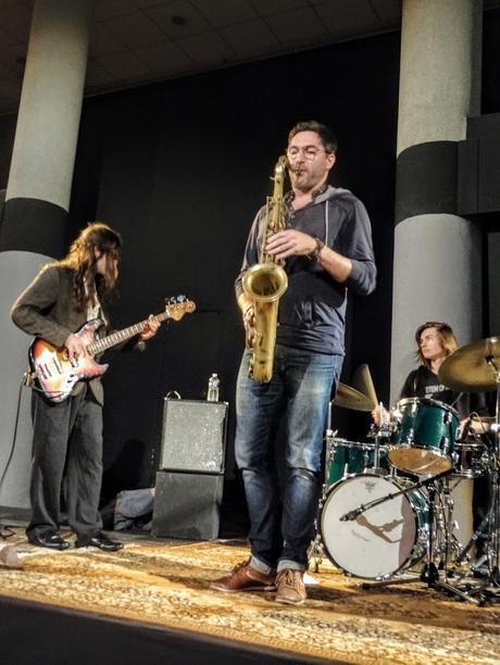 Jazz au Bar avec Félix Masson, Quentin Féron, Yves Alves et Nicolas Royet à la La Passerelle Saint-Brieuc, le 28 novembre 2018