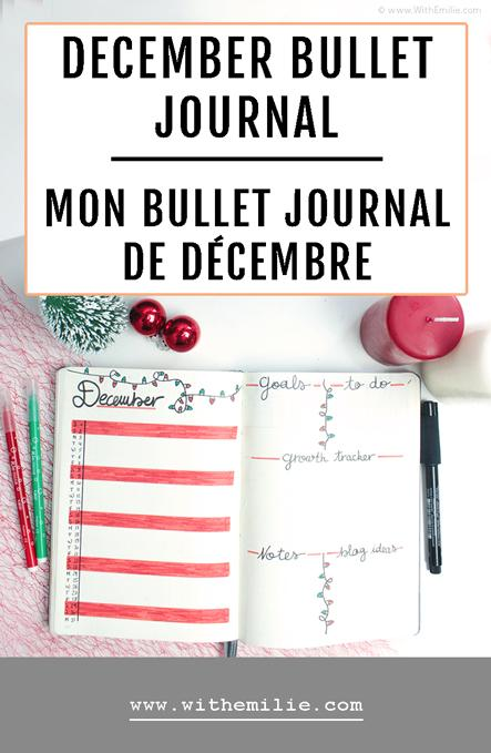 Mon Bullet Journal de Décembre aux couleurs de Noël