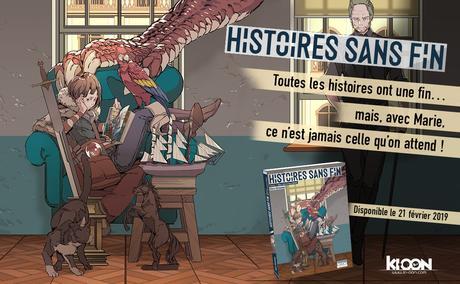 Le manga Histoires sans fin de Geco HIRASAWA annoncé chez Ki-oon