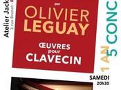 Olivier Leguay joue Louis Couperin l'Atelier Jacki Maréchal Oyonnax samedi décembre