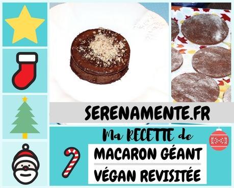 Ma recette de macaron chocolat vegan revisitée | Calendrier de l'avent