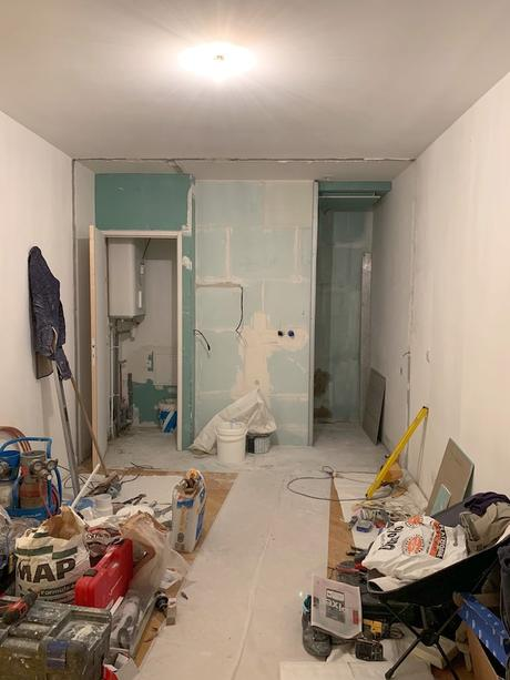 travaux rénovation salle de bain baignoire douche italienne - blog déco - clem around the corner
