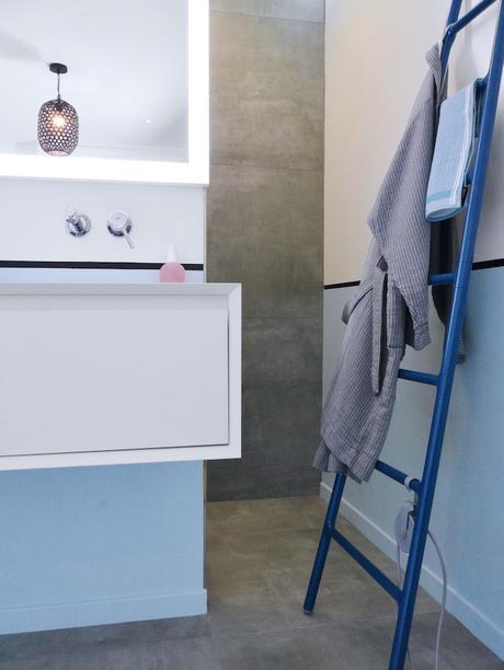 avant après salle de bain style chambre hotel- blog déco - clem around the corner