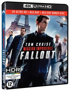 [Test Blu-ray 4K] Mission : Impossible 6 (Fallout)