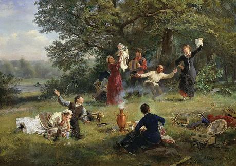 École de Munich – Munich School – Münchner Schule 1850 – Billet n° 16