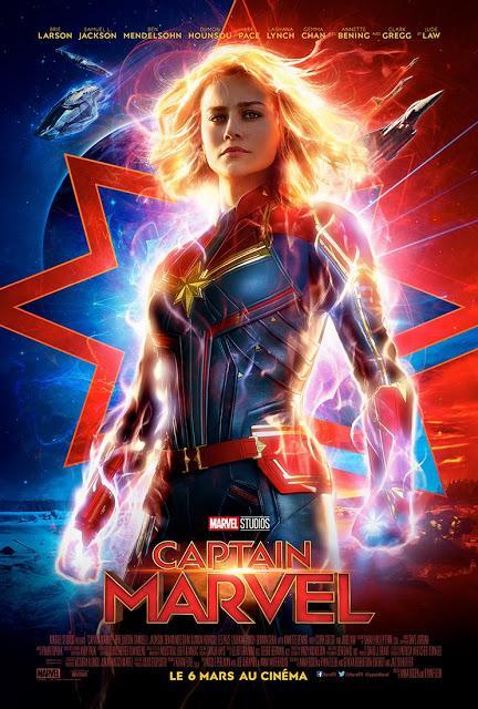 Nouvelle bande annonce VF pour Captain Marvel de Anna Boden et  Ryan Fleck