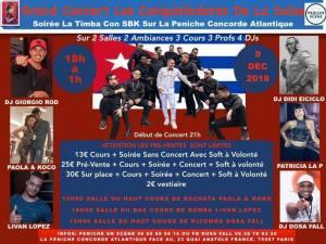 los conquistadores de la salsa paris affiche salsanewz