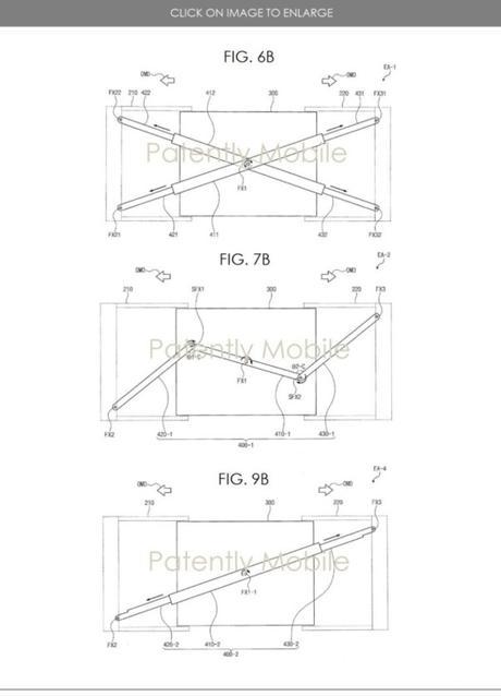 Samsung dépose un brevet pour un écran qui peut s'étirer.
