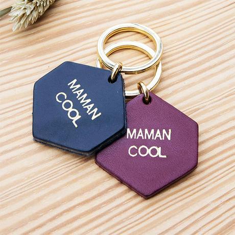 Le porte-clés Maman cool - cuir - Fauvette x émoi émoi
