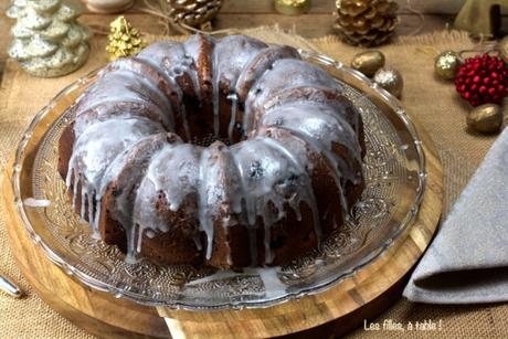 Bundt cake aux cranberries