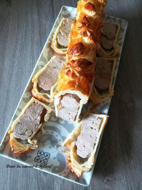 Mini pâté en croûte chic et choc au foie gras