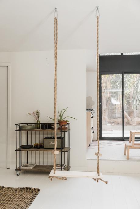 DIY : Réaliser une balançoire d'interieur personnalisée
