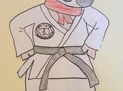 Morceau bisous judo-boy
