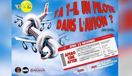Rouen : soirée «Y'a t-il un pilote dans l'avion ?» par Pix'M le 13 décembre 2018