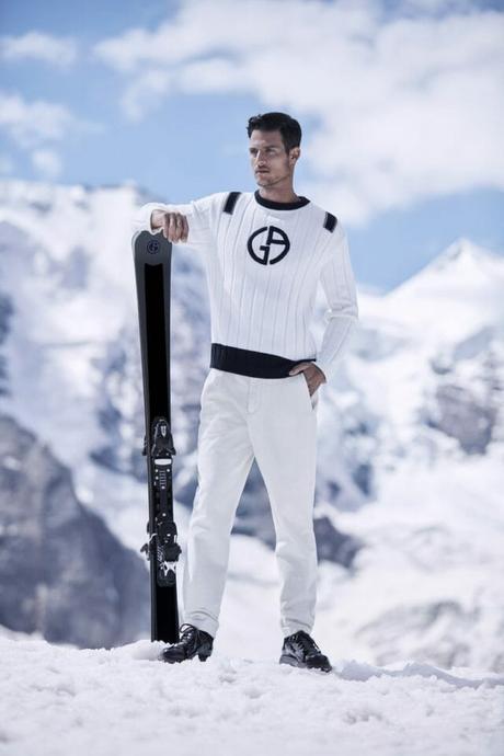 Peut-on descendre les pistes habillé en Giorgio Armani?