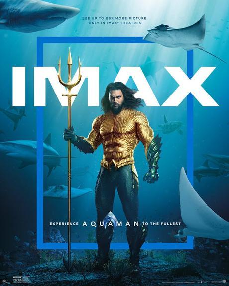 Affiche IMAX pour Aquaman de James Wan