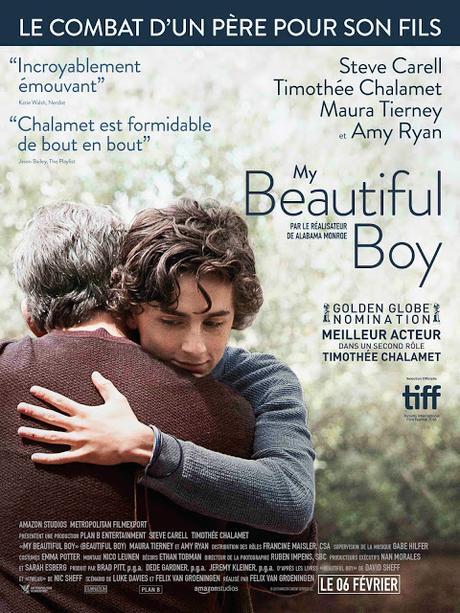 Nouvelles affiches VF pour My Beautiful Boy de Felix Van Groeningen