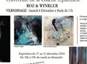 Galerie Ephémère Winkler Barbizon partir Décembre 2018