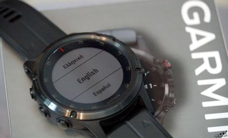 Ces montres Garmin APAC, sur lesquelles le français ne peut être installé