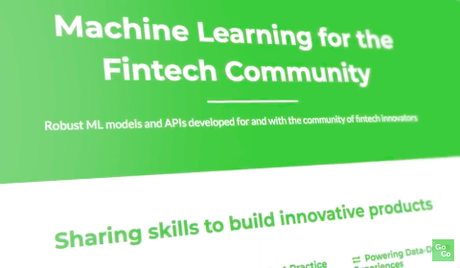 Machine Learning for the FinTech Community