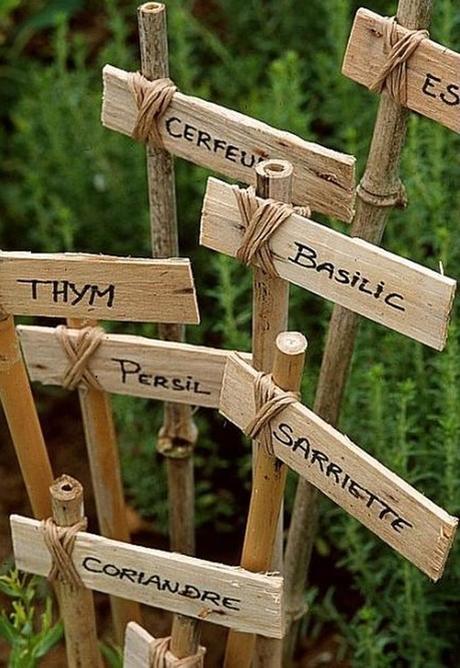 noël écologique décoration porte étiquette plante jardin potager blog déco clem around the corner