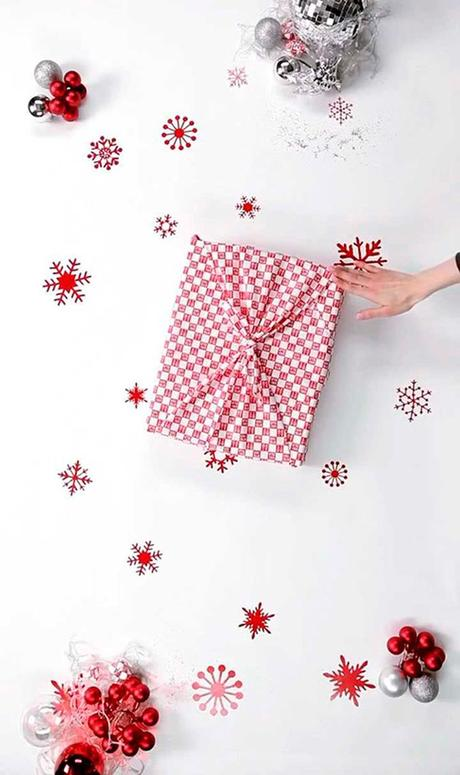 noël écologique décoration furoshiki bel emballage blog déco clem around the corner