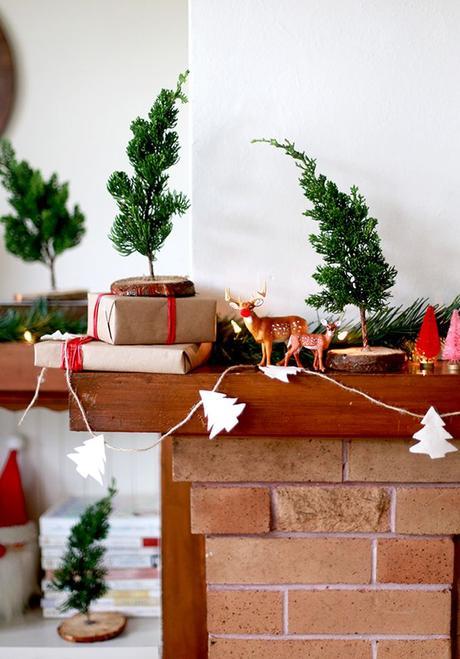 noël écologique décoration sapin diy arbre branche blog déco clem around the corner