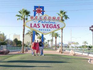 Notre voyage à Las Vegas.