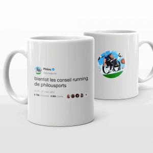 Le mug de Philousports pour aider les enfants handicapés