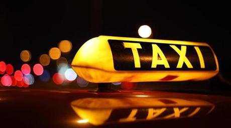 La balade en taxi
