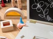 Ordinateur bois tableau craie pour kids