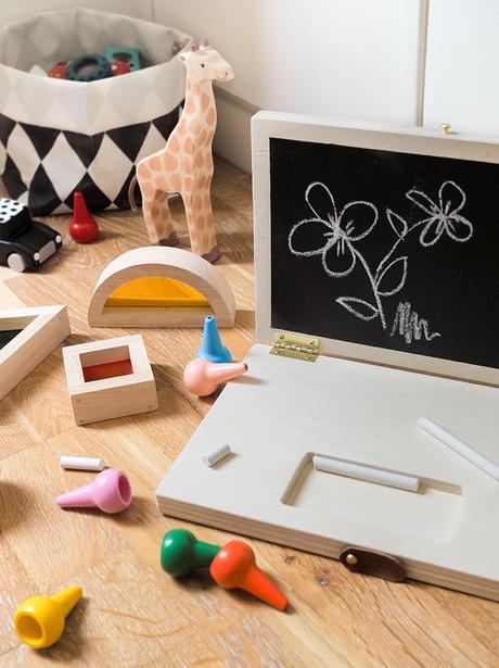 Ordinateur En Bois Et Tableau Craie Pour Les Kids Paperblog