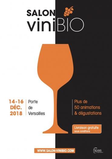 Vinibio : un salon dédié aux vins et champagnes bio français du 14 au 16 décembre à Paris