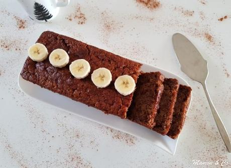 Banana bread ultra moelleux au chocolat