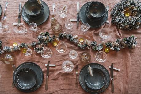 Ma table de fêtes pour le magazine Décor&sens