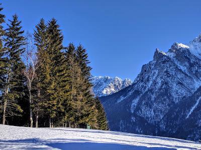 Winterliche Wanderung in Mittenwald - Promenade hivernale à Mittenwald