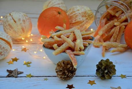 Calendrier de l'Avent gourmand J*16 : Ecorces d'oranges confites