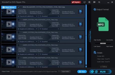 [Test] Wonderfox DVD Ripper Pro