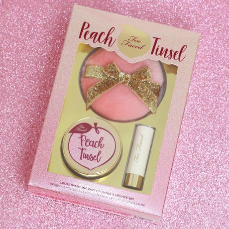Le coffret «Peach Tinsel» de Too Faced !