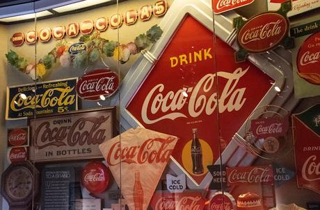 Le monde de Coca Cola à Atlanta