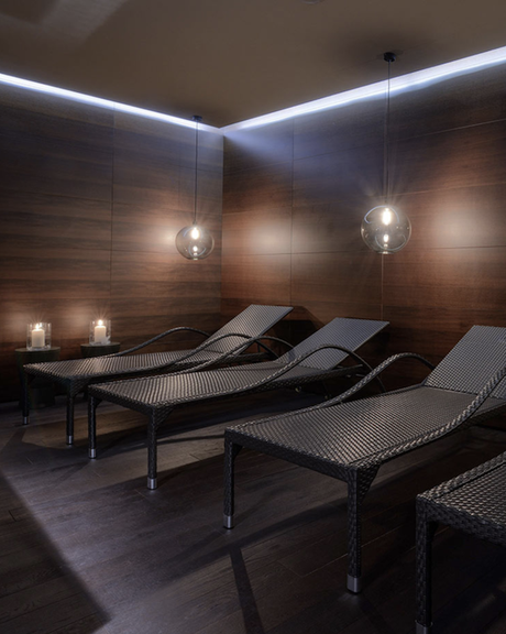 hotel chic en pleine montagne spa piscine bois design blog déco clem around the corner