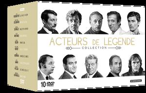 ALAIN DELON L'ESSENTIEL & ACTEURS DE LÉGENDE (Concours) 2 Coffrets de chaque à gagner