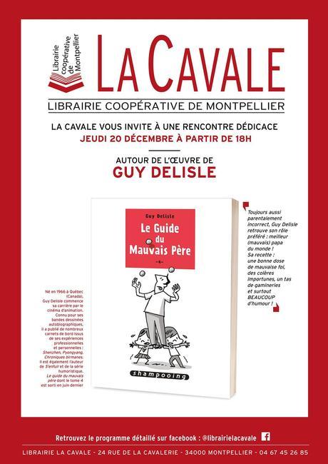 Montpellier | Rencontre dédicace avec Guy Delisle