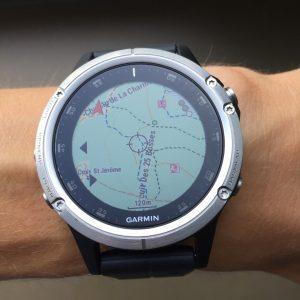 Toutes les montres GPS avec cartographie