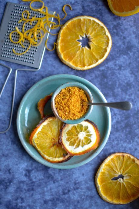 Poudre d'écorce d'orange {...et idées recettes}